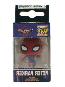 Funko Pocket Pop Peter Parker Keychain Spider-Man Into The S