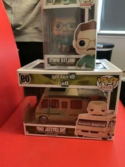 Funko Pop #09 Breaking Bad Crystal Ship w/ Jesse Pinkman AND