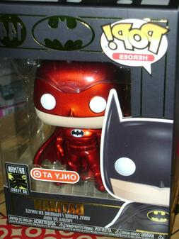 FUNKO POP! #144 DC BATMAN 80th ANNIVERSARY TARGET RED CARD E