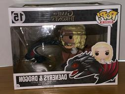 Funko Pop #15 Game of Thrones Daenerys & Dragon Pop Rides -