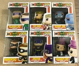 Funko Pop! 1966 Batman Classic Mr. Freeze Tut Riddler Pengui