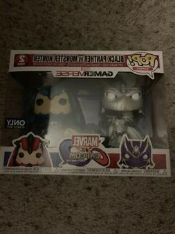 Funko POP 2-Pack Marvel Capcom Black Panther Monster Hunter