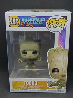 Funko POP 202 Guardians of The Galaxy V2 Baby Bobble Head Gr