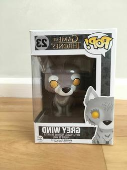 Funko Pop  #23 l Game of Thrones GREY WIND WOLF 7-11 EXCLUSI