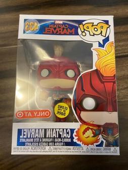Funko POP! #433 Captain Marvel GITD TARGET EXCLUSIVE Glow in