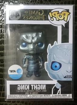 Funko Pop #44 GOT Night King AT&T Metallic AT&T Exclusive Co