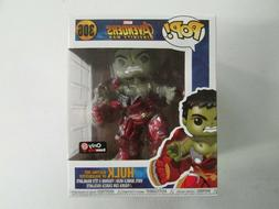 Funko Pop! 6 Inch Marvel Hulk Busting out of Hulkbuster Game