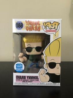 Funko Pop! #680 Animation Johnny Bravo Funko Shop Exclusive