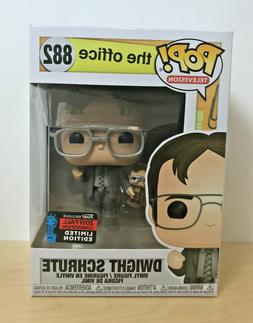 Funko Pop! #882 The Office - Dwight Schrute w/Puppet Dwight