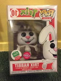 FUNKO POP Ad Icons Flocked TRIX RABBIT #10 Exclusive LE 3500