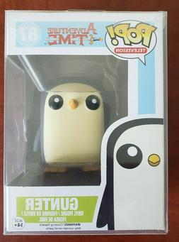 Funko Pop Adventure Time 87 - GUNTER Vaulted with Protector