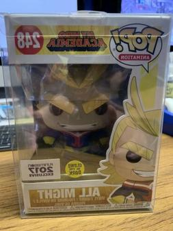 Funko POP! All Might #248 Glow in the Dark Funimation EXC 20