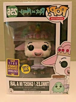 Funko Pop Animation #256 Rick and Morty Tinkles Ghost in a J