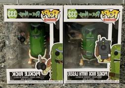 FUNKO POP! ANIMATION #332/#333 RICK AND MORTY PICKLE RICK WI