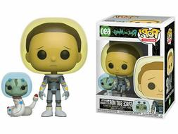 Funko Pop Animation Rick & Morty Space Suit Morty with Snake