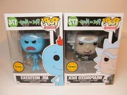 Funko POP Animation Rick & Morty WEAPONIZED RICK & MR MEESEE