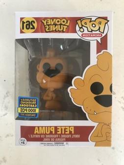 Funko POP! Animation SDCC 2017 Looney Tunes Pete Puma Exclus