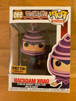 Funko Pop Animation Yu-Gi-Oh! Dark Magician #595 Hot Topic E