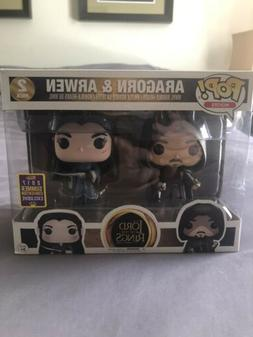 Funko Pop! Aragorn & Arwen 2017 SDCC Exclusive 2 Pack Lord O