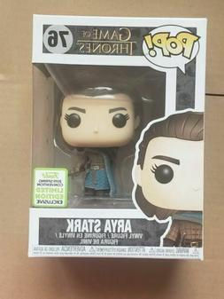Funko Pop! Arya Stark #76 Game of Thrones ECCC Spring 2019 E