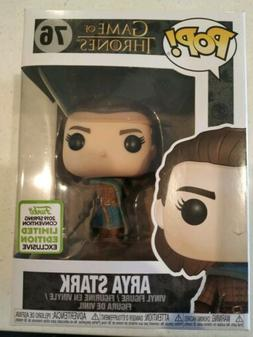 Funko Pop - Arya Stark #76 - Game of Thrones - ECCC 2019 - P
