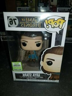 Funko Pop! Arya Stark #76 Game of Thrones ECCC Spring 2019 B