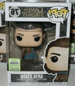 Funko Pop Arya Stark #76 Game of Thrones ECC Shared Exclusiv
