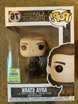 Funko Pop Arya Stark Game of Thrones ECCC 2019 Shared Exclus