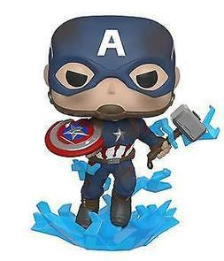 Funko POP! Avengers: Endgame - Captain America with Broken S