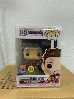Funko Pop Avengers Endgame: I Am Iron Man Glow-in-The-Dark D