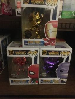 funko pop avengers infinity war chrome set exclusive Austral