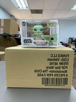 Funko Pop Star Wars Mandalorian Child Baby Yoda Figure w/ Pr