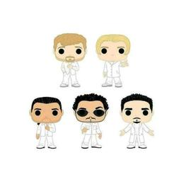 Funko Pop Backstreet Boys 5 Pop Bundle Nick, Brian, Kevin, A