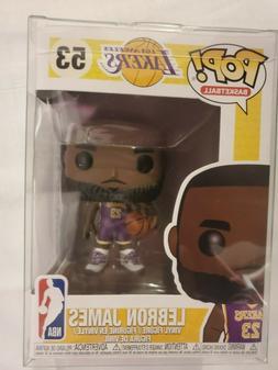 Funko Pop! Basketball - LA Lakers - Lebron James  #53 + Prot