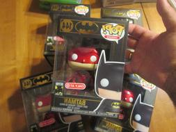FUNKO POP BATMAN RED # 144 80 YEARS METALLIC EXCLUSIVE TARGE