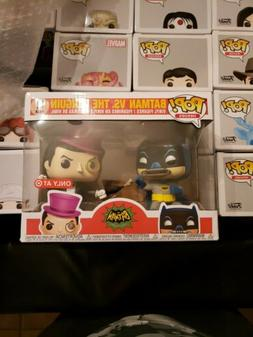 Funko Pop Batman vs Penguin 2-Pack! Target Exclusive 66 Clas