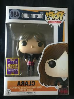 Funko Pop BBC Doctor Who Clara 2017 Summer Convention Exclus