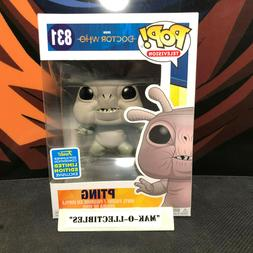 FUNKO POP! BBC DOCTOR WHO PTING #831 SDCC SHARED EXCLUSIVE