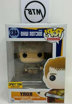 FUNKO POP BBC DOCTOR WHO RORY 483 HOT TOPIC EXCLUSIVE eleven