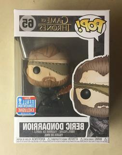Funko POP Beric Dondarrion NYCC Exclusive Game of Thrones Vi