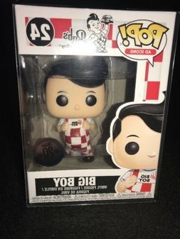 Funko Pop Big Boy #24 Bob's Big Boy Anniversary Edition W/ S