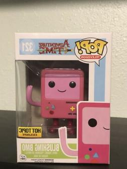 Funko Pop Blushing BMO Hot Topic Exclusive Adventure Time W/