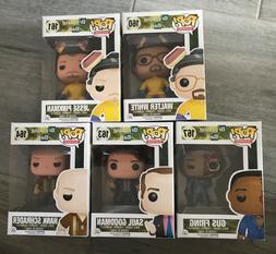 Funko Pop Breaking Bad Set of 5 Walter Jesse Hazmat Gus Saul