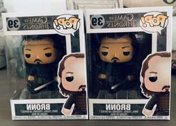 Funko POP! Bronn #39 Game Of Thrones: Vaulted w/Soft Protect