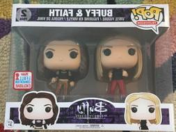 Funko POP! Buffy & Faith 2-Pack 2017 NYCC Fall Convention Fo