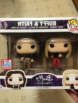 Funko Pop! Buffy and Faith 2 pack, NYCC 2017 Exclusive, Buff