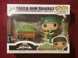 Funko POP! Cabbage Man & Cart Animation Avatar NYCC Shared E