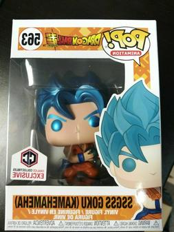 Funko Pop Chalice exclusive Dbz Super metallic goku ssgss ka