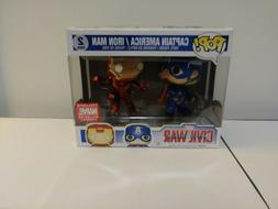 Funko POP! Civil War 2-pack Captain America Vs Iron Man Marv