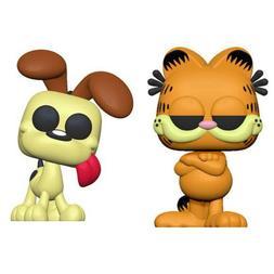 Funko Pop! Comics: Garfield - GARFIELD & ODIE SET #20 # 21 P